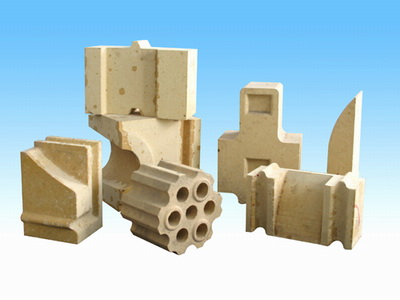 Hot stove silica brick